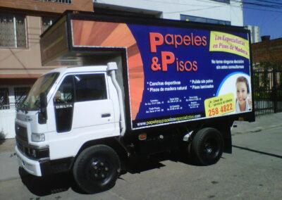 Avisos para furgonees